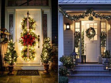 5 moduri amuzante de a decora intrarea in casa iarna aceasta