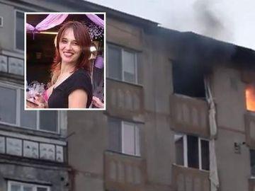 Sorin este bărbatul care s-a aruncat de la etaj, după ce a încercat să-şi ucidă iubita poliţistă şi pe fiica ei! A murit în spital