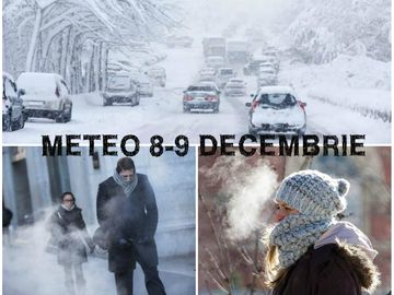 Meteo de weekend: temperaturi scăzute, polei şi ceaţă