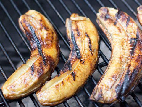 Reţete de post: Banane la grătar