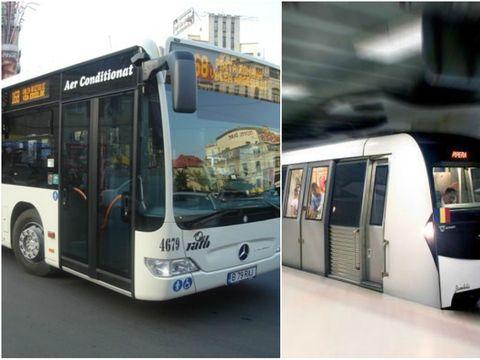 Cum vor circula mijloacele de transport în comun de Revelion! Anunţul făcut de autorităţi