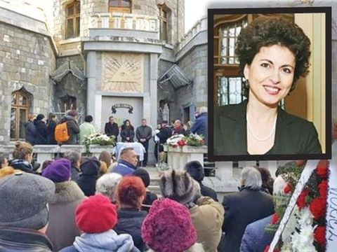 Jenica Tabacu a fost condusă pe ultimul drum! Imagini sfâşietoare de lângă catafalcul cu trupul neînsufleţit