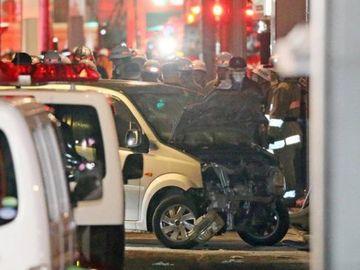 Atac terorist şi în Tokyo de Revelion! Un individ a intrat cu maşina în mulţime! Bilanţul victimelor