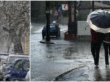 Prognoză specială pentru Municipiul Bucureşti! Meteorologii anunţă ninsori