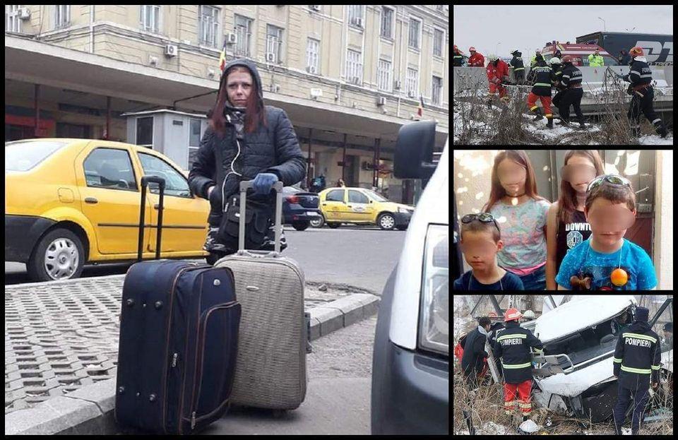 Durere fără margini! Alina a murit în accidentul din Bascov. A lăsat în urmă 4 copii