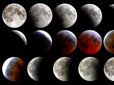 Eclipsă totală de Lună. Va fi vizibilă şi în România