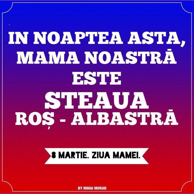 Vedeta TV A Postat O Poezie Pe Pagina Sa De Facebook In Noaptea Asta Mama Noastra Este Steaua Ros Albastra