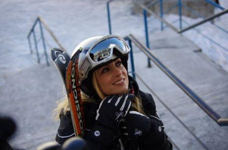 Simona Gherghe, la un pas de moarte pe partia de schi, dupa ce s-a ciocnit cu un incepator: