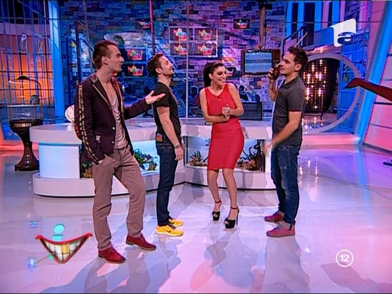 Andreea Tonciu luata la misto grav in fosta emisiune a lui Bendeac! Vezi cum au umilit-o Razvan, Dani si Mikey Has!