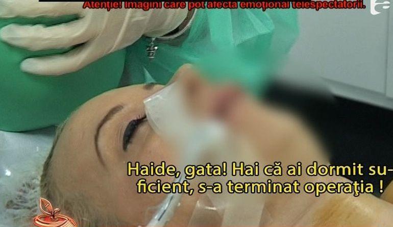 Simona Trasca, declaratii sub efectul anesteziei! Ce dezvaluiri a facut blonda fara sa isi dea seama!