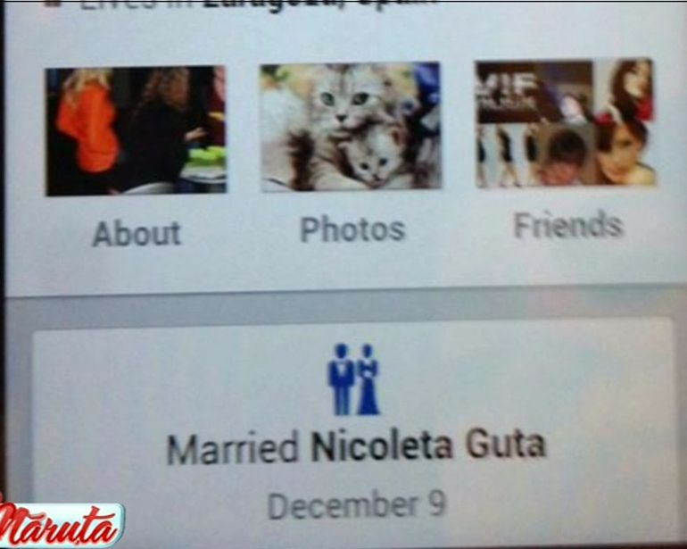 Nicoleta Guta s-a maritat cu amantul din Spania! Uite cum s-a dat de gol!