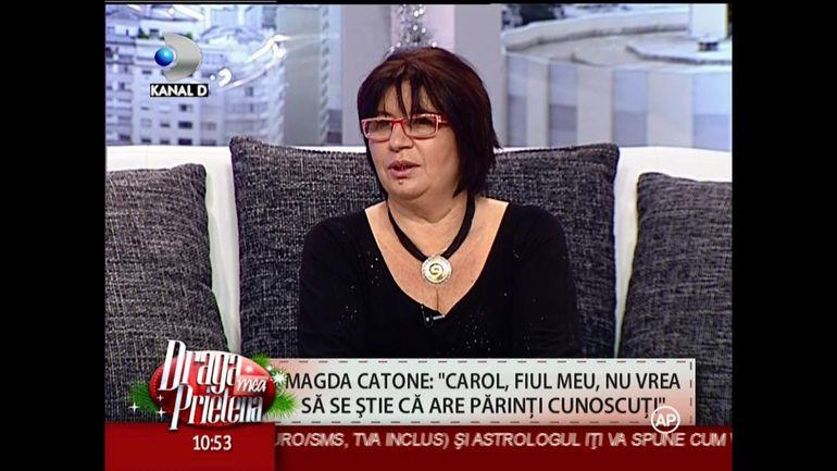 Magda Catone recunoaste: este o mama dura! Vezi cum a reactionat cand l-a prins pe fiul ei pupandu-se cu o fata chiar la ei acasa!