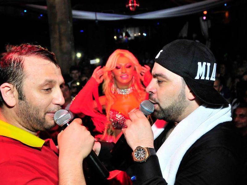 Florin Salam (dreapta) a luat-o pe Cristina cu el la Madrid