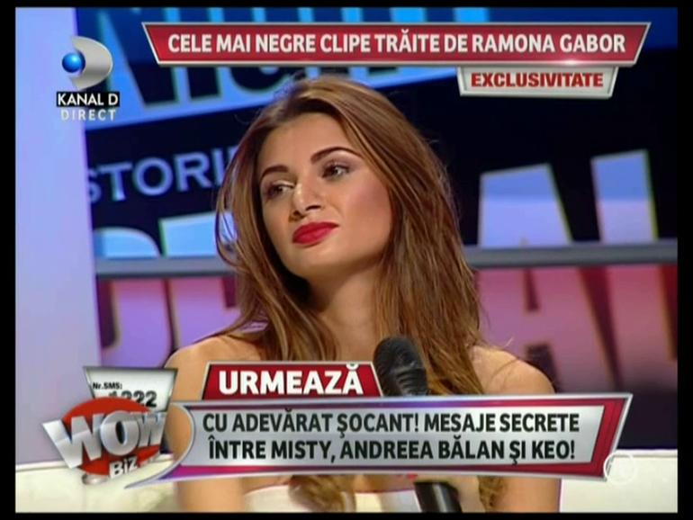 VIDEO Ramona Gabor cu ochii in lacrimi vorbeste despre semnele premonitorii pe care le-a avut chiar inainte sa-i moara mama!