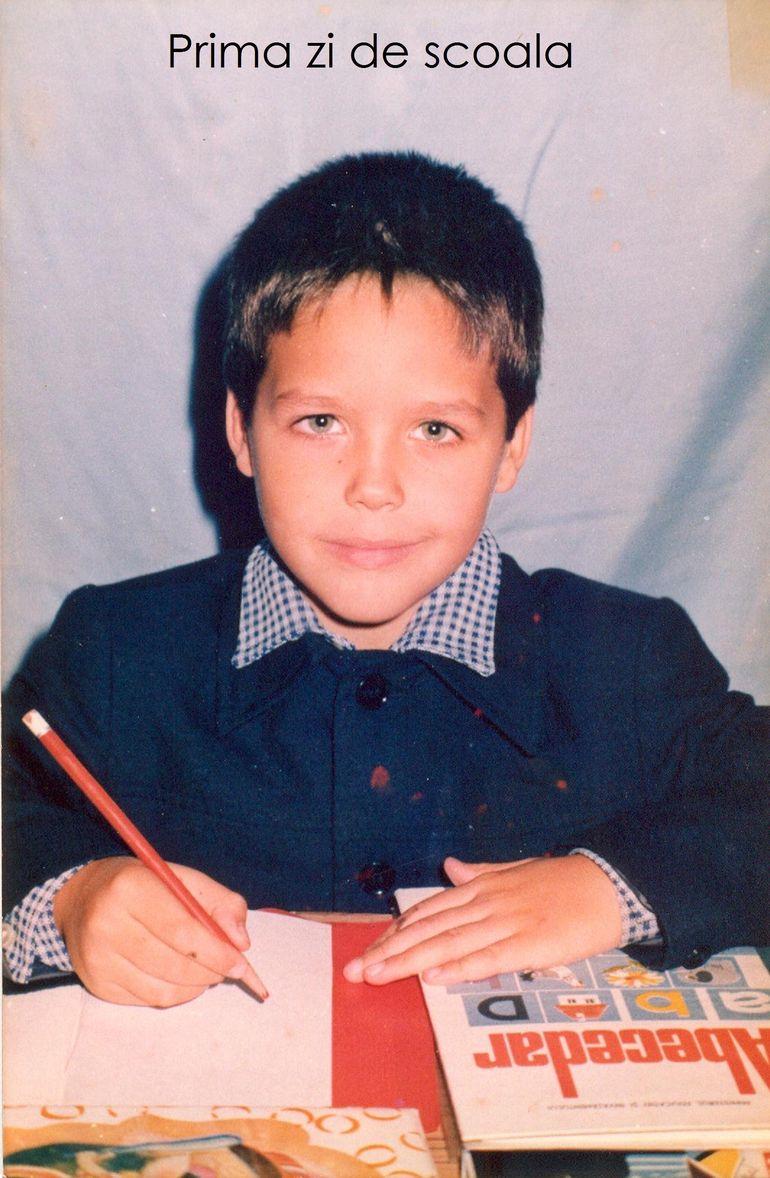 Jorge, amintiri din prima zi de scoala: