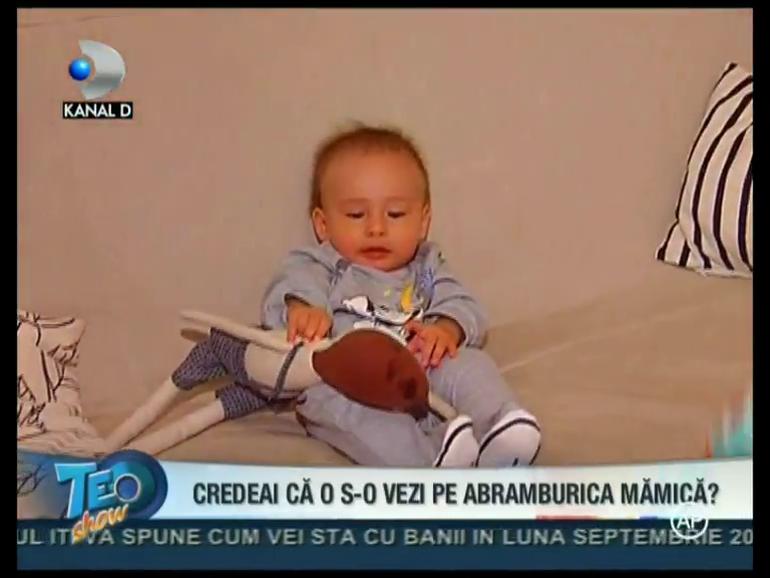 VIDEO Uite cat de scump este baietelul Danei Rogoz! Vlad are 7 luni si cantareste deja 7,5 kg!