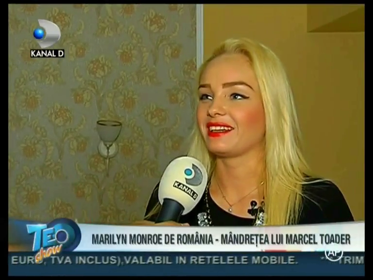 Uite ce dressing bogat are Marilyn Monroe de Romania! Iubita lui Marcel Toader are o gramada de rochii!