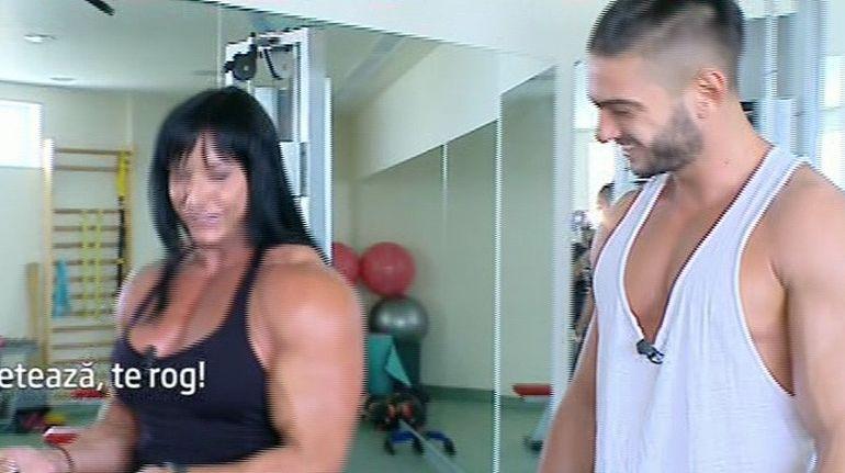 Dorian Popa, la sala cu femeia tanc!