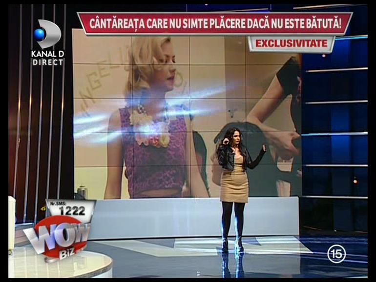 VIDEO Ea e cantareata din Romania care recunoaste ca ii place sa fie batuta atunci cand face sex!