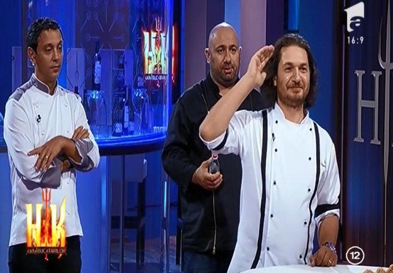 Chef Dumitrescu l-a luat peste picior pe Scarlatescu: