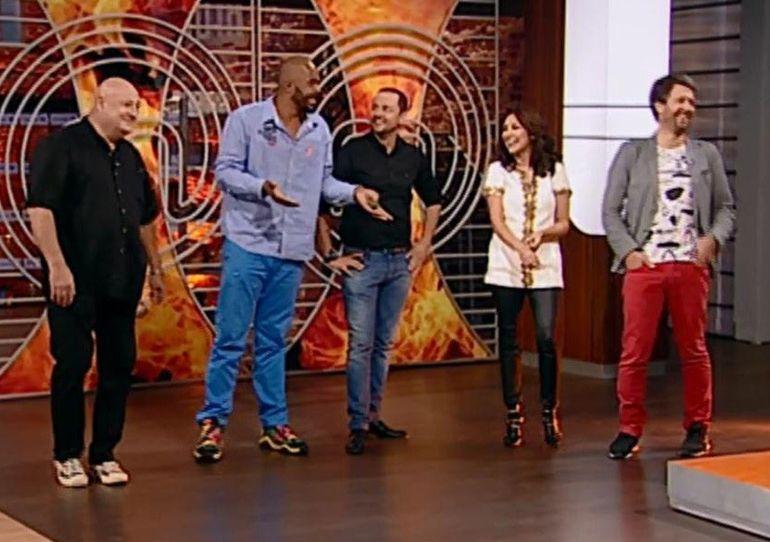 Concurentii de la MasterChef au incremenit cand au aflat ca trebuie sa gateasca pentru Andra, Maruta, Cabral, Bebe Cotimanis si Andi Moisescu!