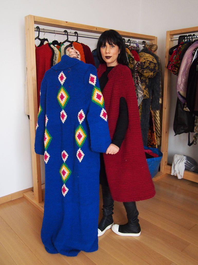Sophia are o noua pasiune: vopseste lana manual, ca pe vremea bunicii!
