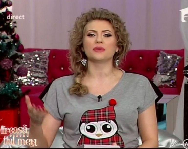 Cum a aparut la TV Mirela Boureanu! Nu ai mai vazut-o niciodata asa!
