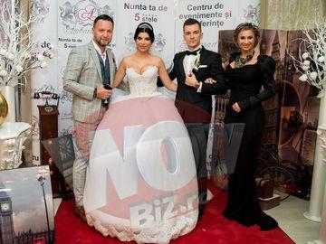 "FOTO! Reghe si Nicusor Stan ""s-au batut"" in tinute la nunta Andreei Tonciu! Care dintre ei s-a imbracat mai bine?"