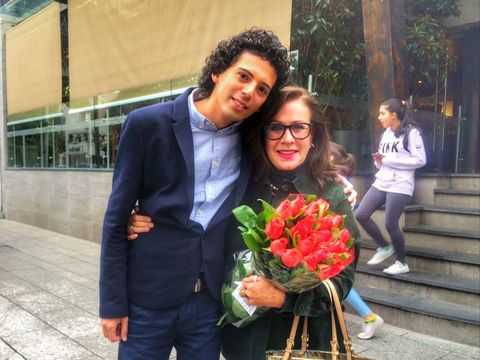 Radhu si-a sarbatorit ziua de nastere in Mexic cu o celebra actrita de telenovele!