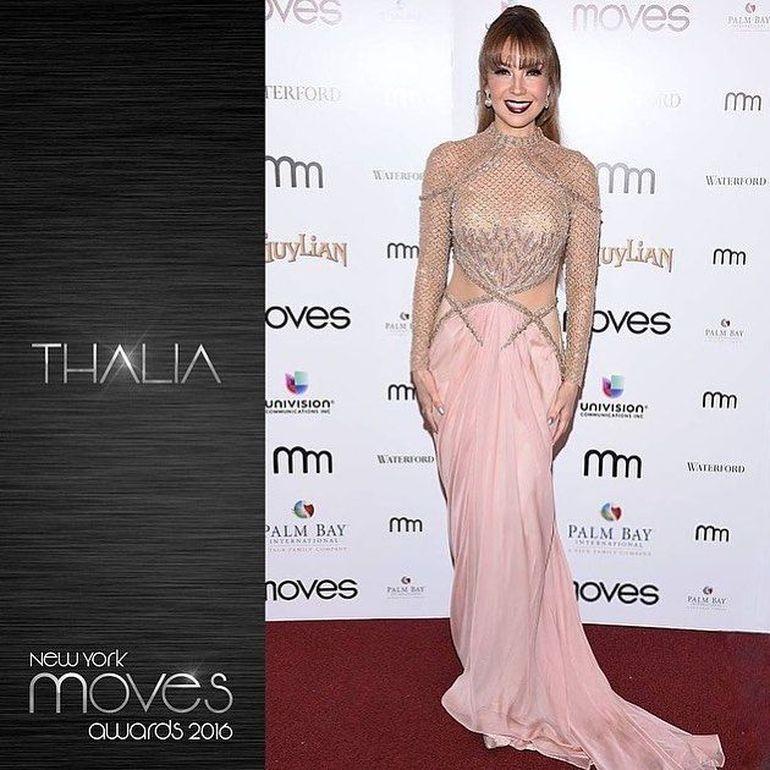 Thalia, neschimbată şi la 44 de ani! A îmbrăcat o rochie super sexy şi toţi au întors privirile după ea!