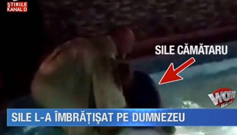 Sile Camataru a luat calea Domnului! S-a botezat in piscina din curtea casei. Primele declaratii facute dupa pocaire VIDEO