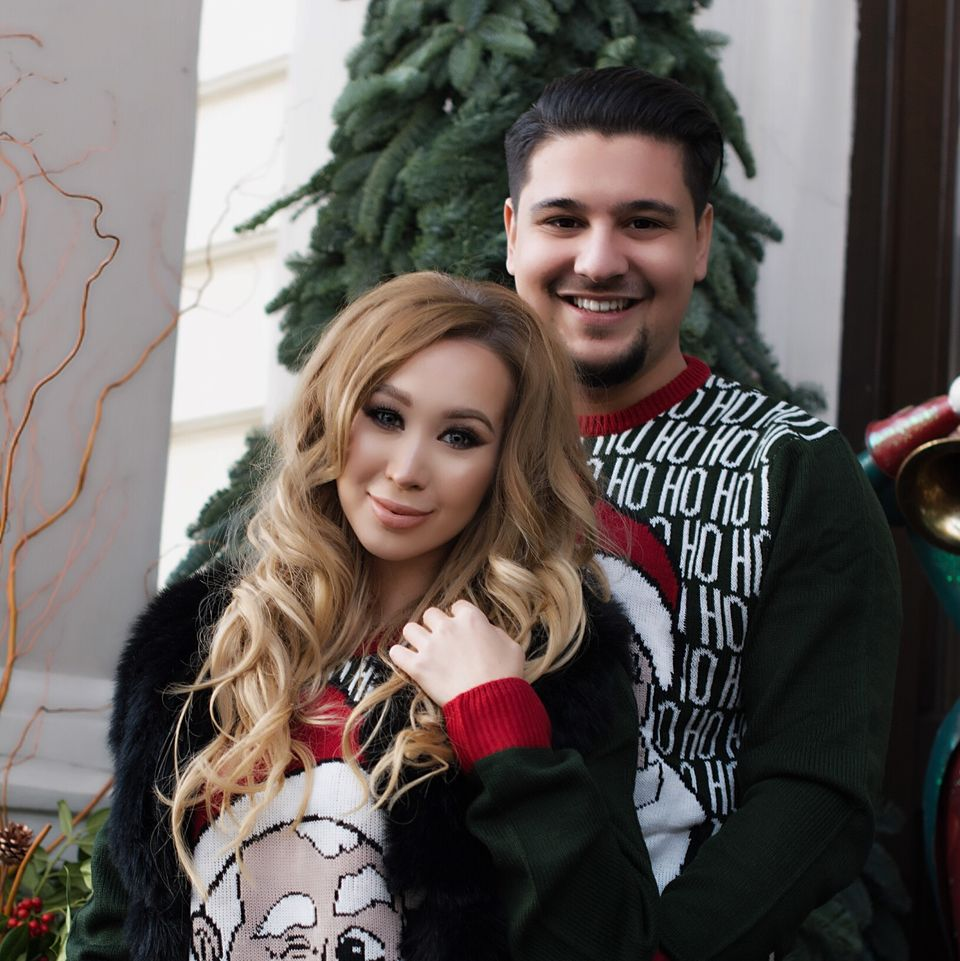 Vezi cu cine petrece Xonia Sarbatorile de iarna! FOTO!