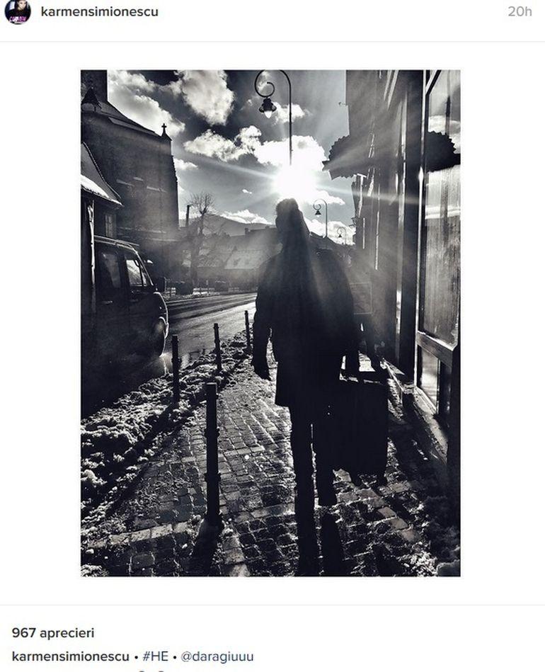 Dupa ce s-au afisat impreuna, iubitul lui Carmen Minune si-a facut bagajul si a plecat! Ce a spus artista