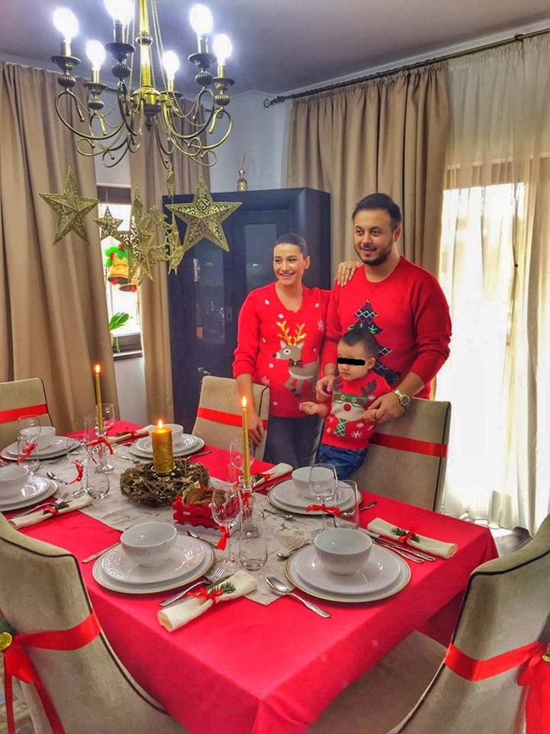 Claudia Patrascanu e gospodina de nota zece! Graviduta si-a aranjat casa si masa festiva ca in reviste! Pana si socrii au fost impresionati