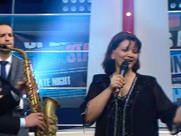 "Gina, mama Deliei, melodie dedicata ""Puiului cu mustacioara""! Interpretare in premiera"