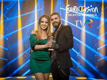 Adina Buzatu, talismanul norocos pentru castigatorul Eurovision! Stilista l-a imbracat pentru marea finala