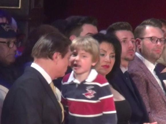 Micul print Carol Ferdinand s-a dat in spectacol la Palat! Pustiul de 7 ani si-a scos parintii din minti! Video!