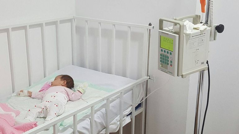 Bebelusul lui Christian Sabbagh a scapat ca prin minune de boala cumplita: