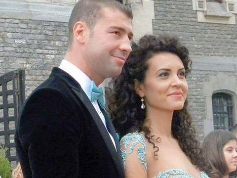 Lucian Bute si sotia lui si-au botezat fetita in secret! A fost facuta publica prima imagine