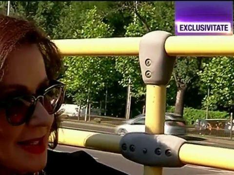 "Laura Zapata a facut turul Bucurestiului intr-un autobuz supraetajat, apoi a mers si in Centru Vechi! ""Promit ca o sa ma intorc in Romania"""
