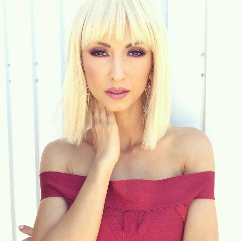 Andreea Balan s-a tuns scurt!