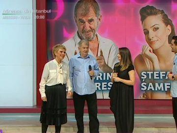 """Tablou de familie! Actorul Florin Zamfirescu, cu fiica la Teo Show! """"Am patru nepoti, am sanse sa devin si strabunic"""""""