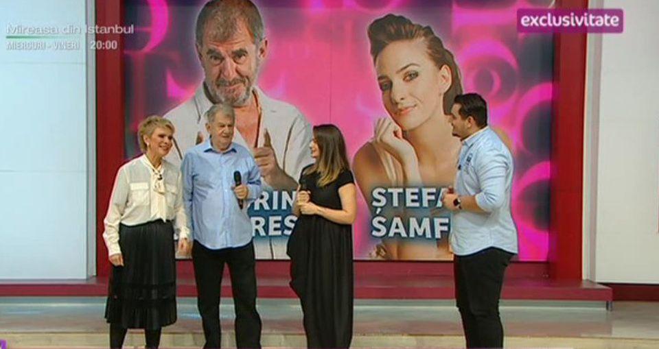 Tablou de familie! Actorul Florin Zamfirescu, cu fiica la Teo Show!