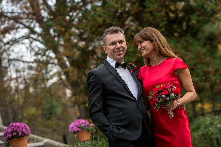 Desi la un moment dat au aparut zvonuri ca ar divorta, Anca Turcasiu si sotul ei se distreaza in vacante exotice FOTO