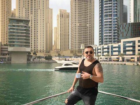 Sorinel Pustiu, vacanta de lux la Dubai