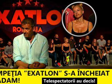 """Telespectatorii au decis! Drumul în compeţia """"Exatlon"""" s-a încheiat pentru Anda Adam"""