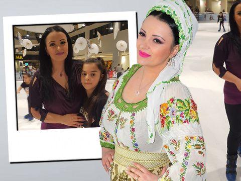 Silvana Riciu a patinat pentru prima oara, de dragul fiicei! Cat de bine s-a descurcat cantareata de muzica populara – Video Exclusiv!