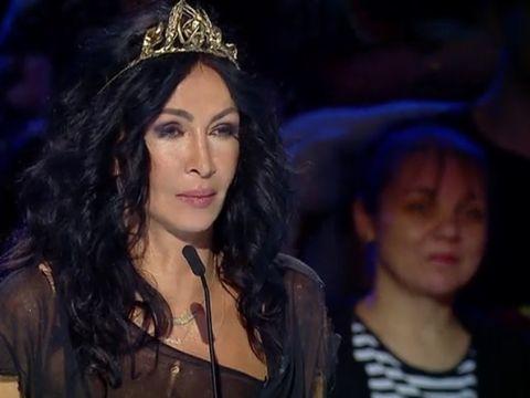 Gestul neasteptat facut de Mihaela Radulescu, dupa ce un concurent a ramas dezbracat pe scena