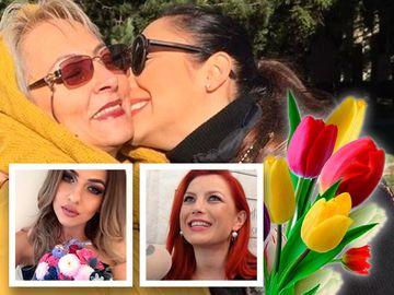Andra, Elena Gheorghe si Lidia Buble, declaratii emotionante despre mamele lor. Uite-le pe cele mai importante femei din vietile lor. FOTO!
