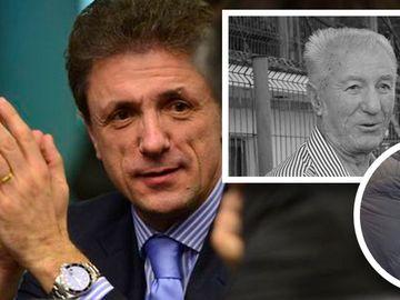 Gica Popescu vine foarte des la mormantul tatalui sau, decedat in 2014! In amintirea parintelui, fostul mare fotbalist a inaltat un impozant monument de marmura FOTO